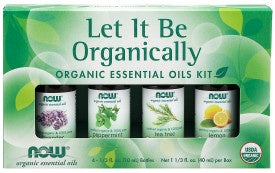 Let It Be Organically Essential Oils Kit