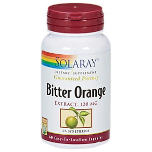Solaray Bitter Orange 120 mg 60 Capsules