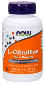 L-Citrulline Pure Powder - 4 oz.