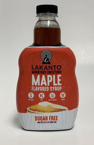 Maple Syrup Sweetened With Monk Fruit 13 Oz