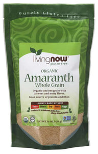 Amaranth Grain, Organic - 16 oz.