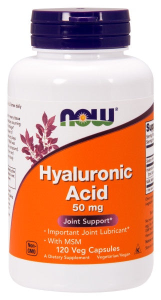 Hyaluronic Acid with MSM - 120 Veg Capsules