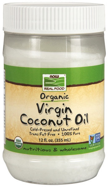 Virgin Coconut Cooking Oil, Organic - 12 fl. oz.