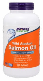 Wild Alaskan Salmon Oil 1,000 Mg 200 Softgels
