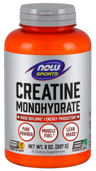 Now Now Creatine Monohydrate Powder - 8 oz.