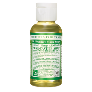 Dr. Bronner's Hemp Almond Castile Soap 2 oz