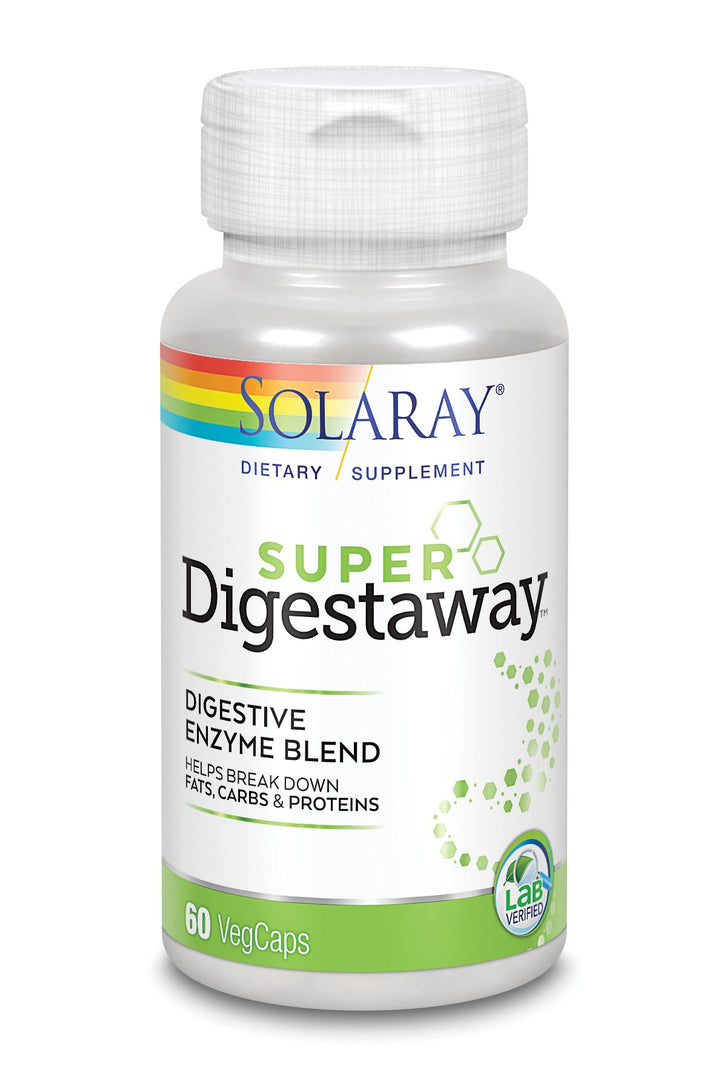 Solaray Super Digestaway Digestive Enzyme Blend 90 Capsules