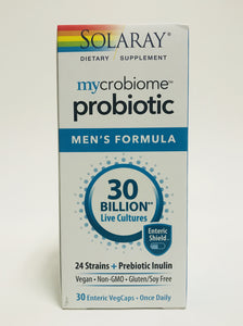 Solaray Mycrobiome Probiotic Men's Formula