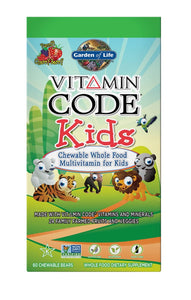 Garden Of Life Vitamin Code Kids Multi-Vitamin 60 Chewable Bears