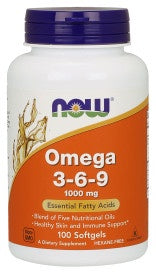 Omega 3-6-9 1000 mg - 100 Softgels
