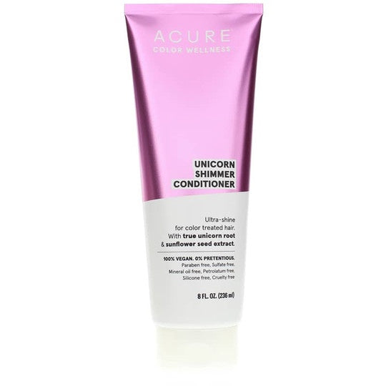 Acure  Color Wellness Unicorn Shimmer Conditioner 8 Oz