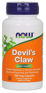 Now Devil's Claw Veg Capsules