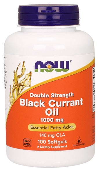 Black Currant Oil 1000 mg Double Strength - 100 Softgels