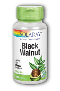 Solaray Black Walnut 500 mg 100 Capsules