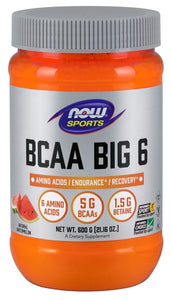 BCAA Big 6, Watermelon Flavor - 600 g