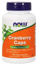 Now Cranberry Caps  100 Capsules