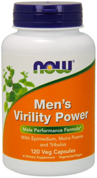 Men's Virility Power - 120 Capsules