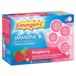 Emergen-C Immune Plus Raspberry 30 Packets