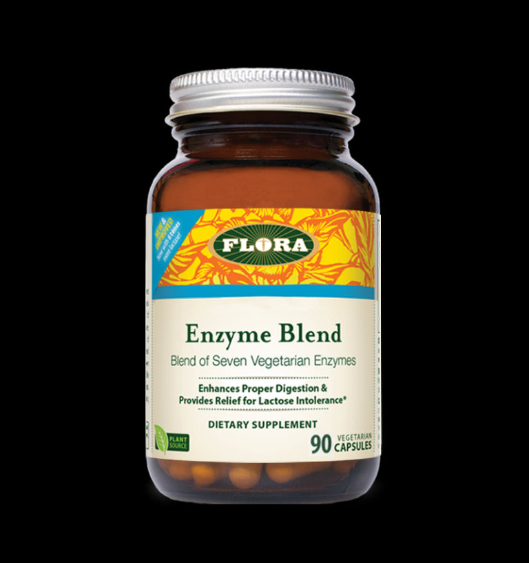 Flora Enzyme Blend 90 Capsules