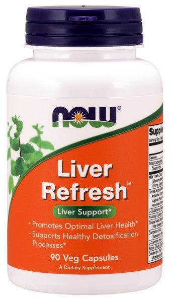 Now Liver Refresh� - 90 Veg Capsules