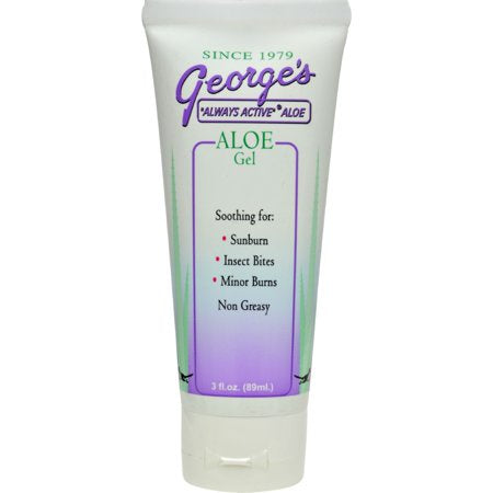 George's Aloe Gel 3 Oz