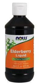 Now Elderberry Liquid - 8 oz.
