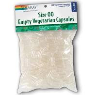 Solaray Empty  Vegetarian Capsules 500 Size 00