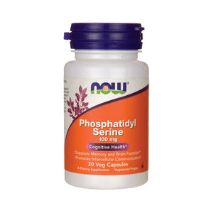 Now Phosphatidyl Serine 100 mg 30 Capsules