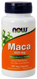 Now Maca 500 mg - 100 Veg Capsules