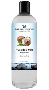 Butterfly Express Fractionated Coconut Oil MCT 16 Fl. Oz.