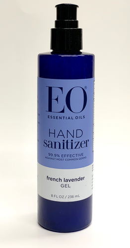 EO Hand Sanitizer Fresh Lavender Gel 8 oz