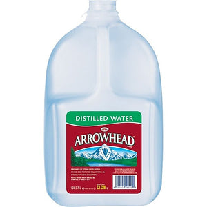 Arrowhead Distilled Water 1 Gallon