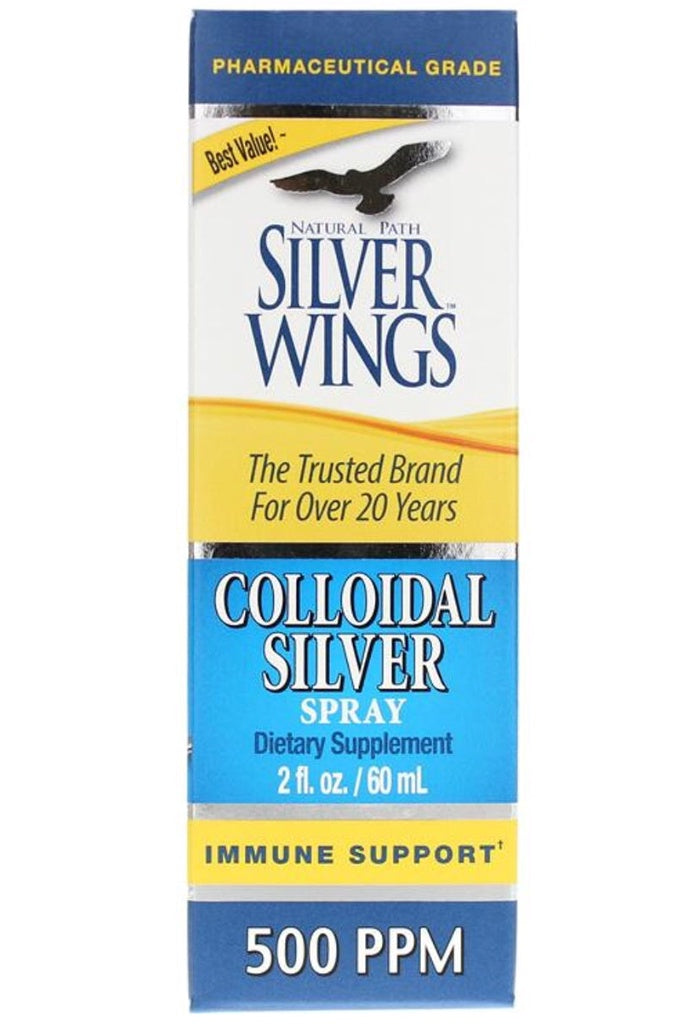 Silver Wings Colloidal Silver Spray 500 PPM 2 Oz.