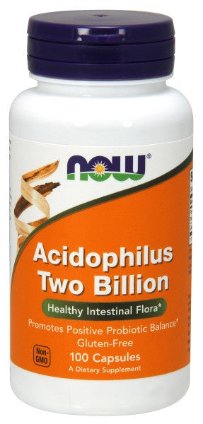 Acidophilus Two Billion - 100 Veg Capsules