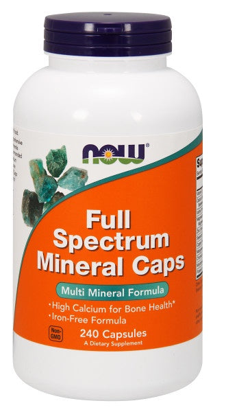 Now Full Spectrum Mineral Caps - 240 Capsules