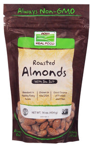 Almonds, Roasted & Salted - 1 lb.
