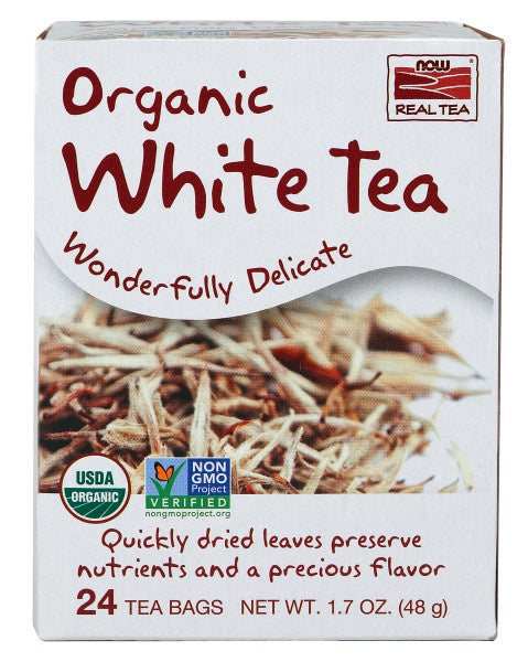 Delightfully White Tea, Organic - 24 Tea Bags