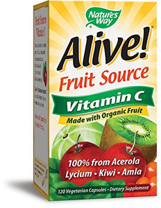 Nature's Way Alive! Vitamin C 120 Capsules