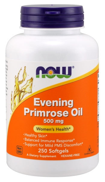Evening Primrose Oil 500 mg - 250 Softgels