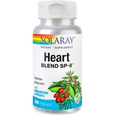 Solaray Heart Blend SP-8 100 Capsules