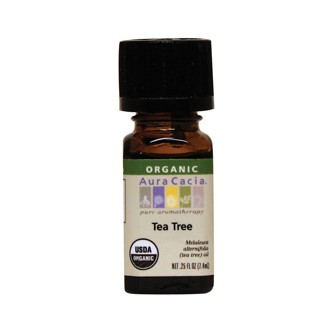 Aura Cacia Organic Tea Tree Oil