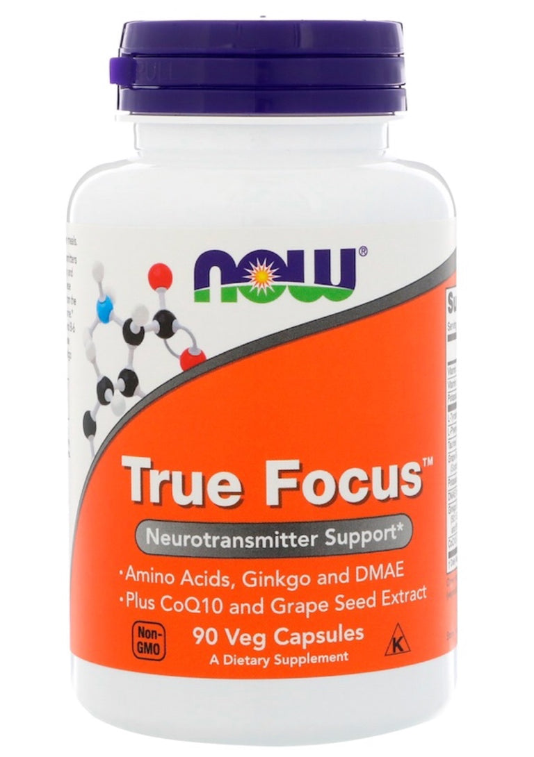 Now True Focus 90 Capsules