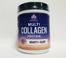 Ancient Nutrition Multi Collagen Protein Beauty and Sleep 18.9 oz