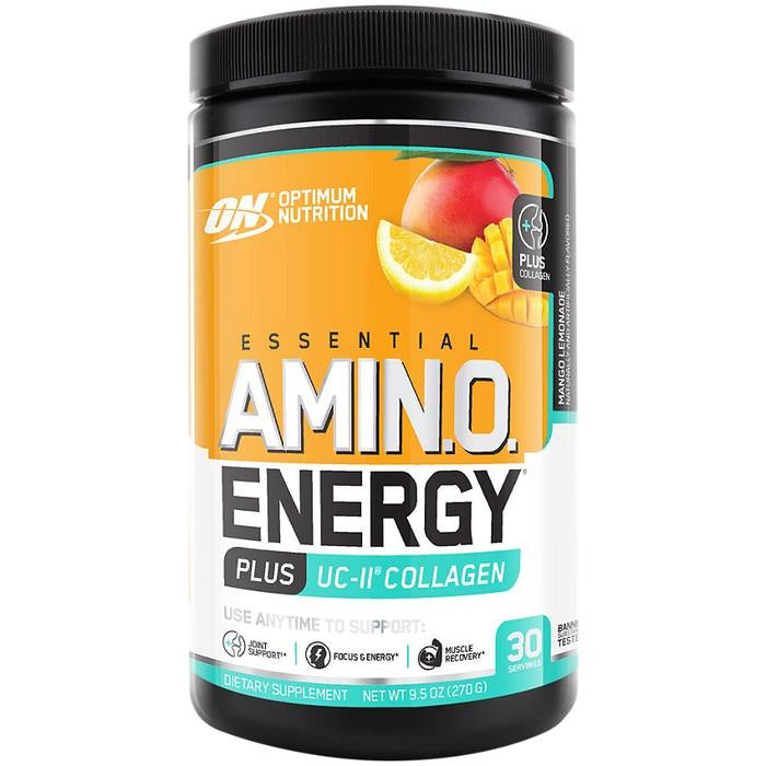Amino Energy Plus UC-II collagen Mango Lemonade 9.5 Oz