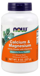 Calcium & Magnesium Powder - 8 oz.