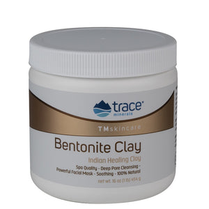 Trace Minerals Bentonite Clay Indian Healing Clay 16 Oz