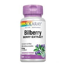 Bilberry Berry Extract 60 Mg 60 Capsules