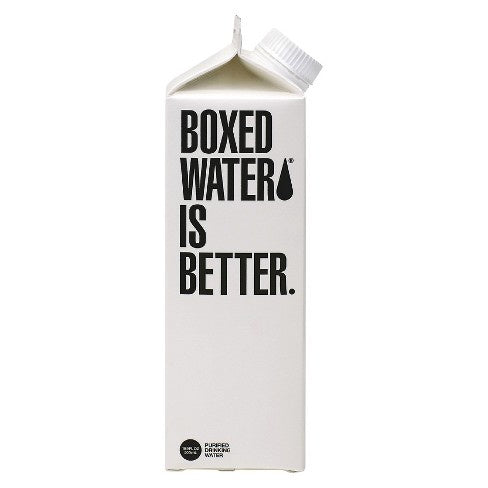 Boxed Water Carbon filtered 16.9 oz
