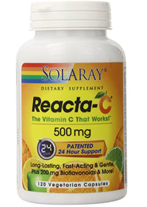 Solaray Reacta-C 500 mg 120 Capsules