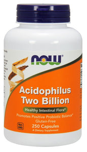 Acidophilus Two Billion - 250 Veg Capsules